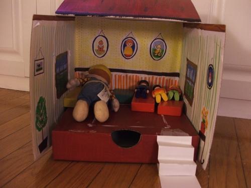 Amie's dollhouse (c) Katrien Vander Straeten