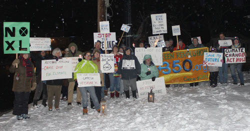 NoKXL Vigil Group Photo_500