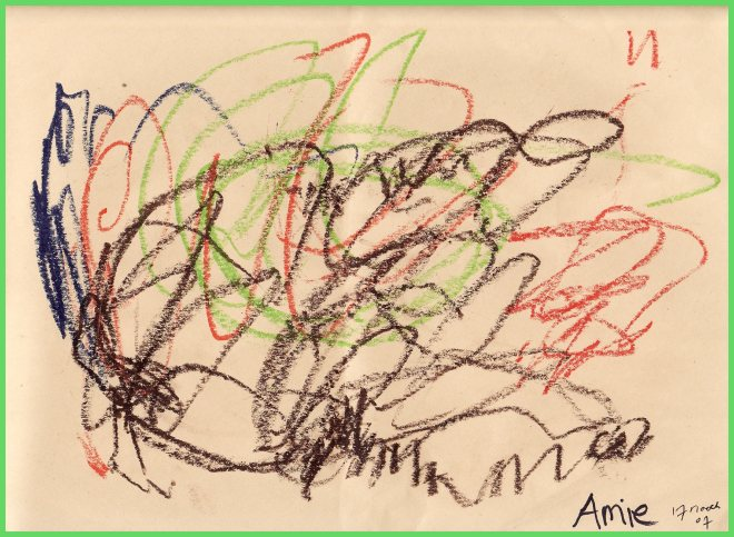 Amies Drawing Of 17 April 2007
