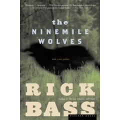 Cover of Rick Bass: The Ninemile Wolves