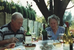 photograph of grandparents (c) Katrien Vander Straeten