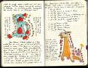 Page from Amie's Baby Journal (c) Katrien Vander Straeten