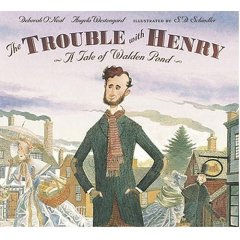 Cover of The Trouble with Henry (c) S.D. Schindler, Candlewick Press, 2005.