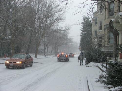 snowstorm 13 December 2007, Brookline (c) Katrien Vander Straeten