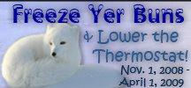 Freeze Yer Buns Challenge 2008 (c) Crunchy Chicken