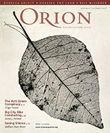 over Orion Magazine nov-dec 2008 (c) Orion