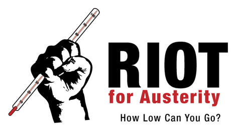 Riot 4 Austerity fist with thermometer