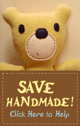 savehandmade button
