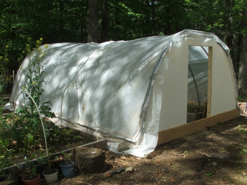$600 Movable Hoop House: Details, Pictures and Cost Analysis