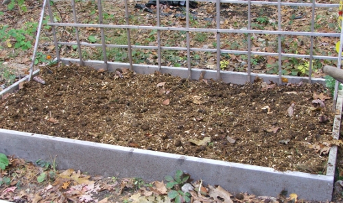Fertilizing A Garden Bed Horse Play And Daily Bread No Robin